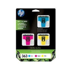 HP Ink Cartr. 363 C/M/Y 3-Pack