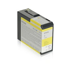 Epson Ink Cartr. T5804 Yellow