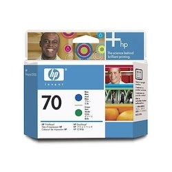HP 70 Printhead Blue+Green