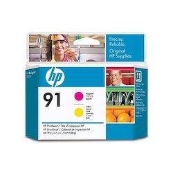 HP 91 Printhead Magenta+Yellow