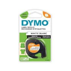 Dymo Iron-on Tape White...