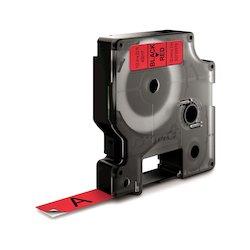 Dymo Tape 12mmx7m black red...
