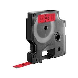 Dymo Tape 9mmx7m noir red...