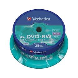 Verbatim DVD-RW 4.7GB 4x...