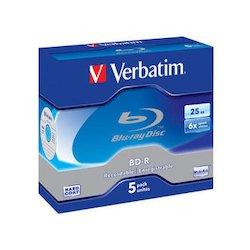 Verbatim BD-R SL 25GB 6x 5P...