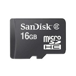 Sandisk microSDHC 16GB Class 4