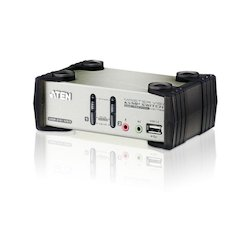 Aten KVM Switch 2P. USB VGA...