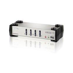 Aten KVM Switch 4P. USB VGA...
