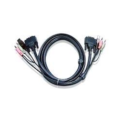 Aten KVM Sw. Kabel (PC)...