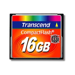 Transcend CompactFlash 16GB...