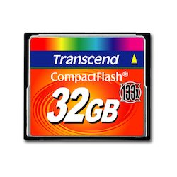 Transcend CompactFlash 32GB...