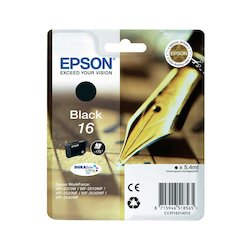 Epson Ink Cartr. T16 Black
