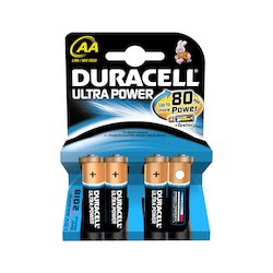 Duracell AA Ultra Power 4x