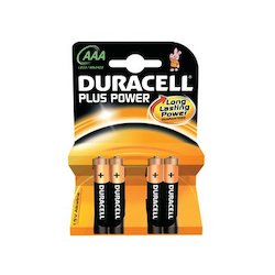 Duracell AAA Plus Power 4x