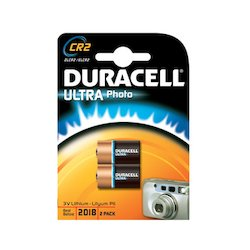 Duracell CR2 Ultra Photo 3V 2x