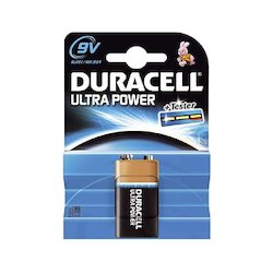 Duracell Ultra Power 9V 6LR61