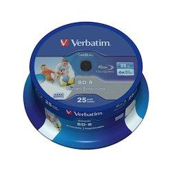 Verbatim BD-R 25GB 25pcs SL