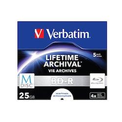 Verbatim BD-R M-Disc 25GB 5pcs