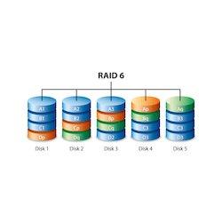 Log. Drive1 as RAID-6 (dual...