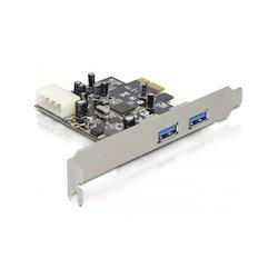 DeLock USB3.0 2-poort PCIe...