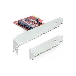 DeLock PCIe Card 2x SATA...