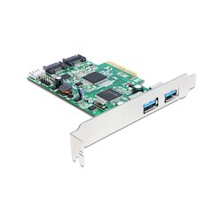 DeLock PCIe Card 2x USB3.0...
