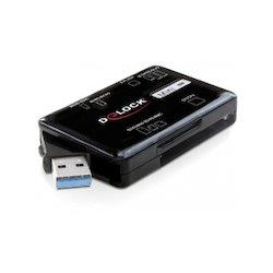 DeLock Card Reader USB-A 63in1