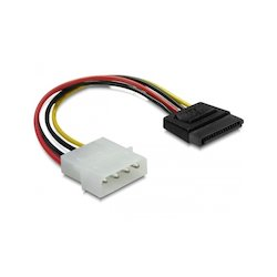 DeLock Molex to SATA power