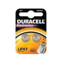 Duracell LR43 2x