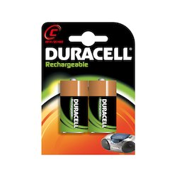 Duracell Rechargeable C 2x