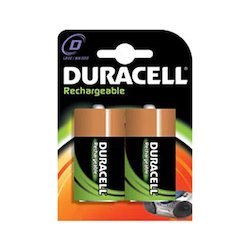 Duracell Rechargeable D 2x