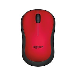 Logitech M220 Silent Mouse Red