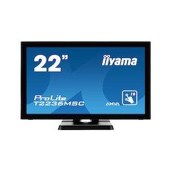 "Iiyama 22"" FHD T2236MSC-B2..."