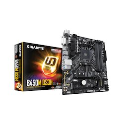 Gigabyte mATX AM4 B450M DS3H