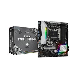 ASRock mATX AM4 B450M Steel...