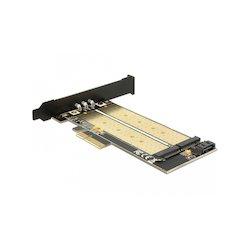 DeLock PCIe-Card x4 to M2...
