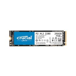 Crucial P2 250GB NVMe M.2 80mm