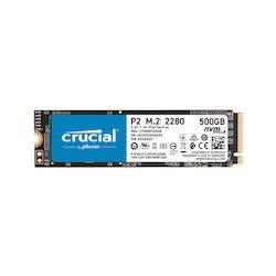 Crucial P2 500GB NVMe M.2 80mm