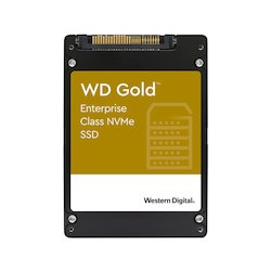 WD Gold 7.6TB NVMe 2.5i U.2...