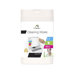 Tracer cleaning wipes to...