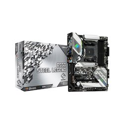 ASRock ATX AM4 B550 Steel...